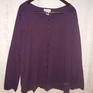 Plus size Jessica London sweater. Size 3X